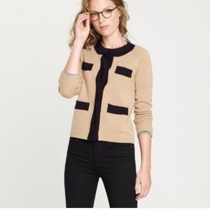 J.Crew Wool Sweater Jacket